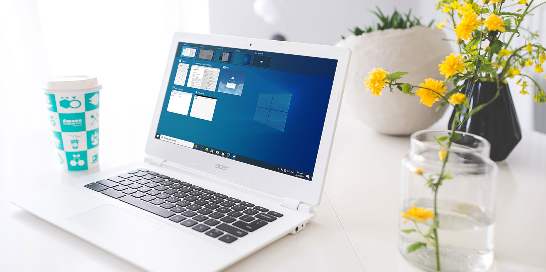 Run windows 10 on chromebook